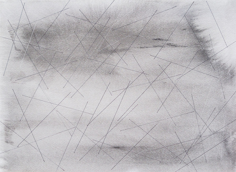 Drawing With No Lines : Nicole lenzi : 2d works time lines fields 8 months. 2016.