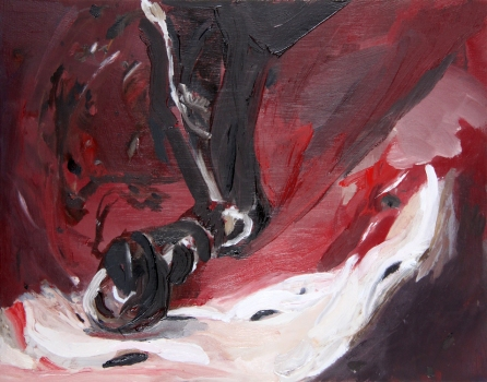Nicole Ouellette Paintings Oil on panel
