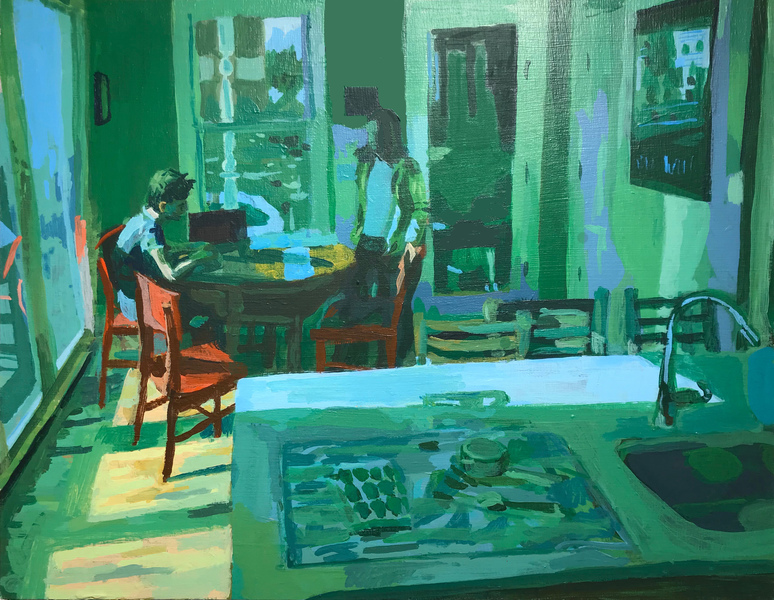 Home Paintings, 2018 Kitchen Table