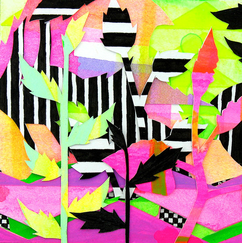 "All Drawings ""Zebra Garden #2"""