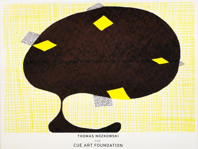 NOAH BREUER Cue Art Foundation Screenprint