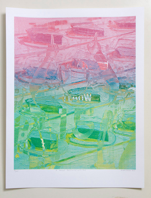 NOAH BREUER Other Prints Screenprint