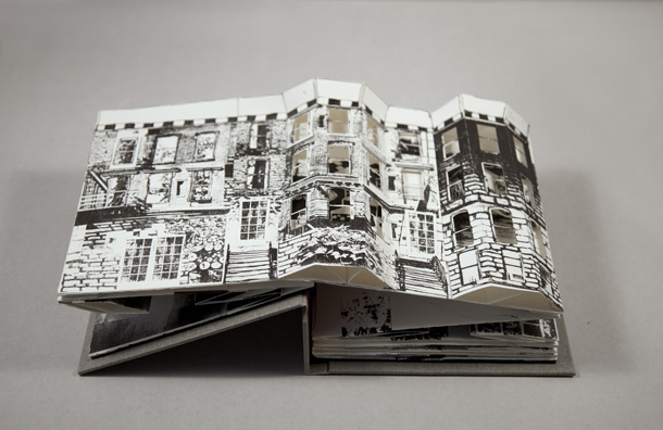Collapse of the Home Pop-Up Book Beka Goedde