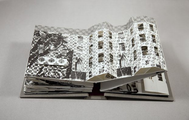 Collapse of the Home Pop-Up Book Noah Breuer