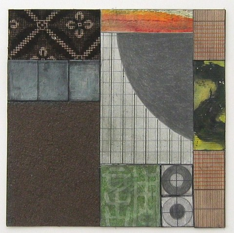 Noriko Sakanishi Collages Acrylic & MM Collage