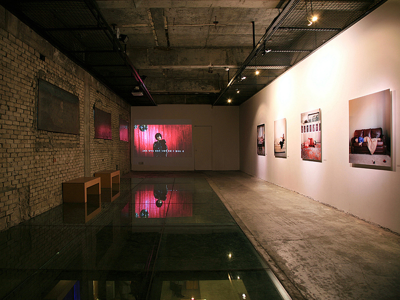 Mirror Ball Installation view of Mirror Ball at  the 2007 solo exhibition at Gallery Jungmiso, Seoul, Korea