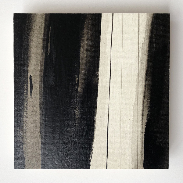 OLIVIE PONCE  We Love Black; Limited edition of 50 pieces Medium: Alkyd on canvas laid to wood board