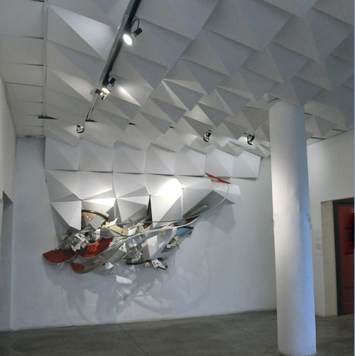 Radical Tectonic (Cleveland, OH) Mixed Media Installation