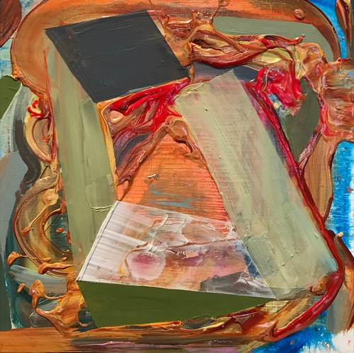 Jenniffer Omaitz Small Paintings 2013-15 Acrylic and gouache on panel