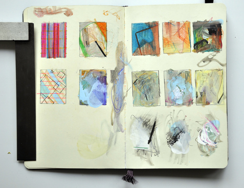Abstract Sketchbook Pages
