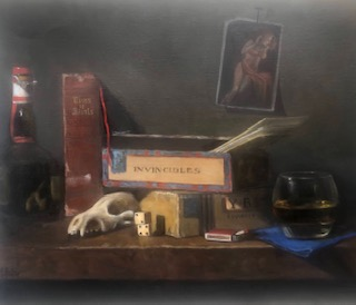 Still Lifes by Marybeth Hucker    5/22-6/15/20 Confessions