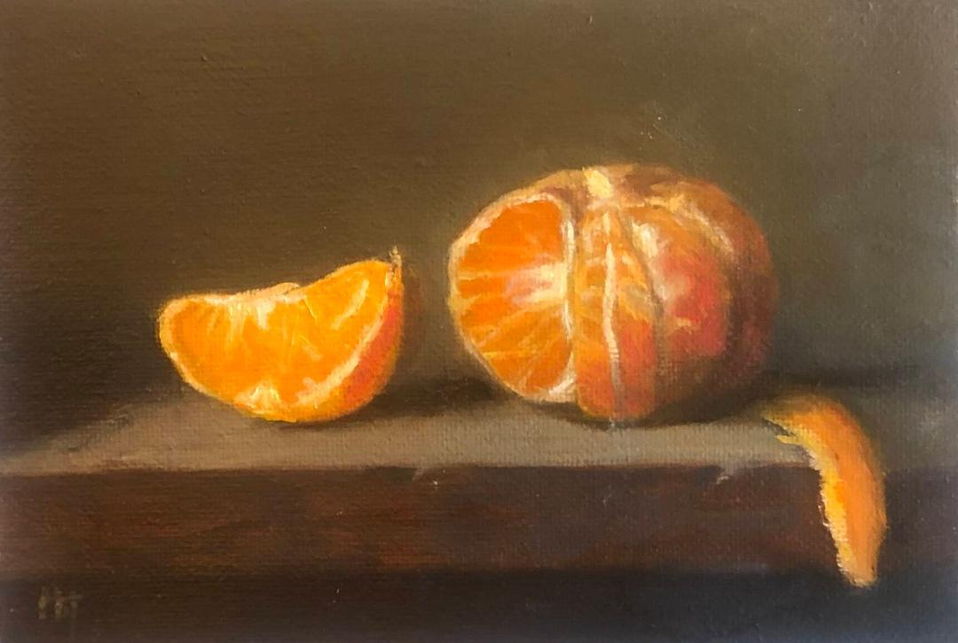 Still Lifes by Marybeth Hucker    5/22-6/15/20 Clementine