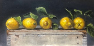 Still Lifes by Marybeth Hucker    5/22-6/15/20 Lemon Lust