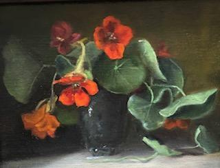 Still Lifes by Marybeth Hucker    5/22-6/15/20 Nasturtiums