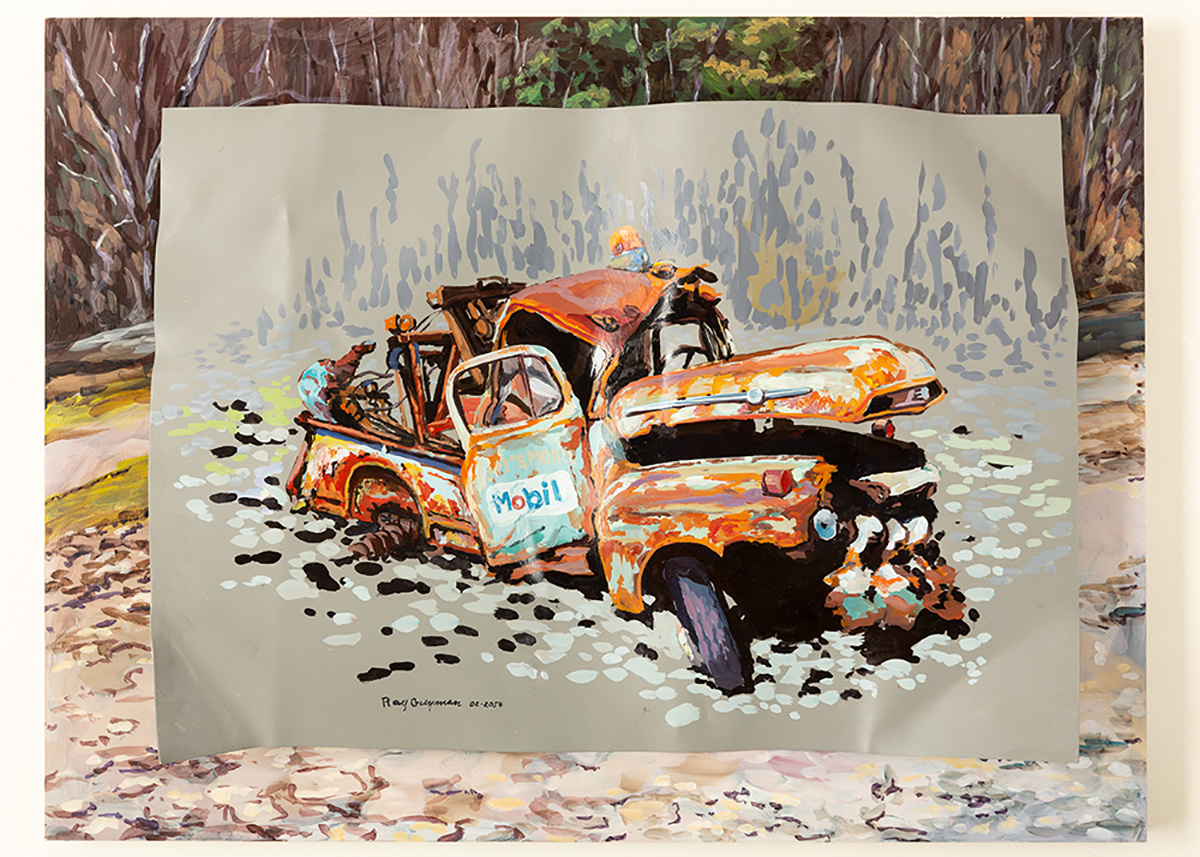 Ray Guzman - Paintings      7/8/7/31/20 Mobil Tow