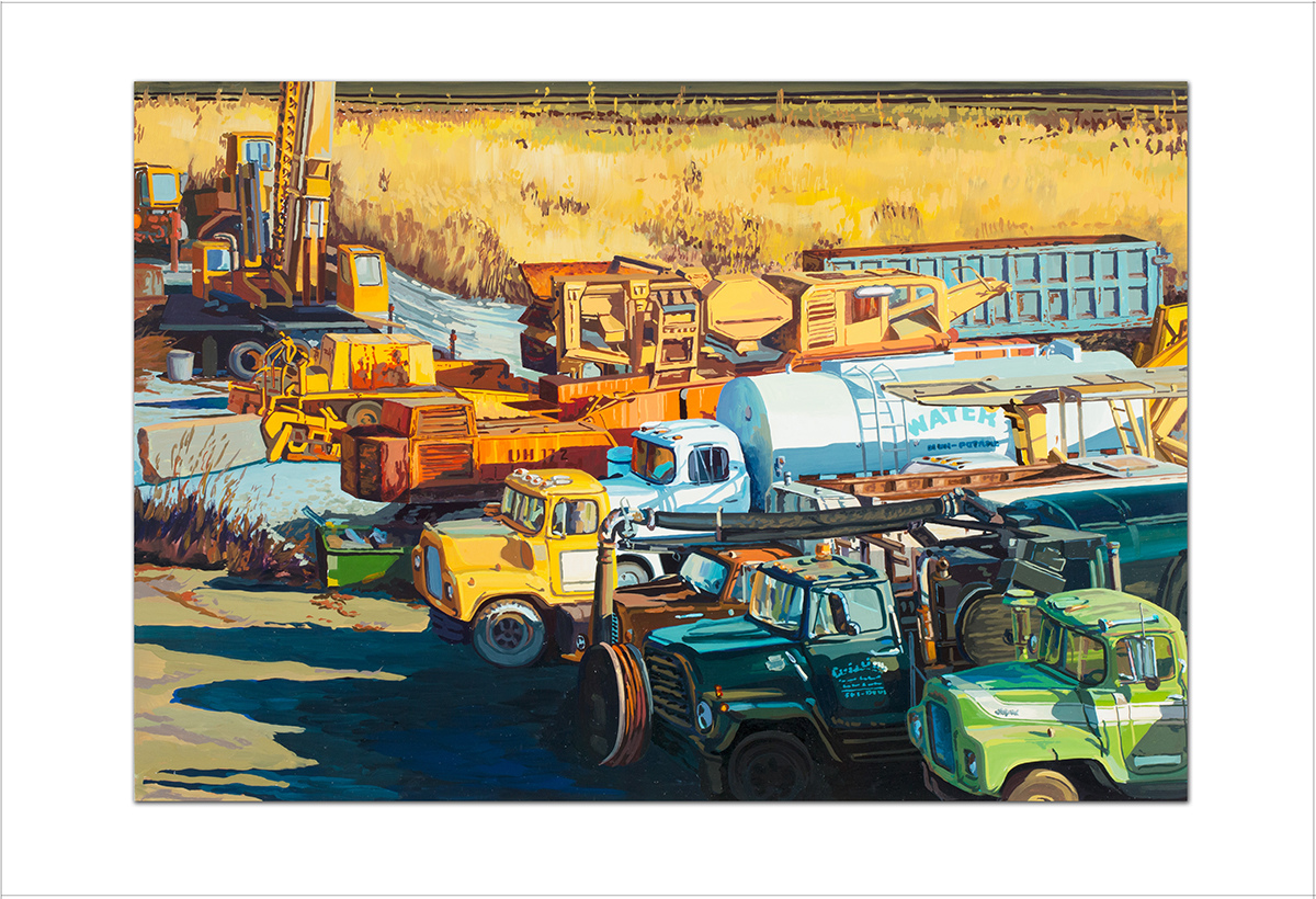 Ray Guzman - Paintings      7/8-7/31/20 Truck Tribe
