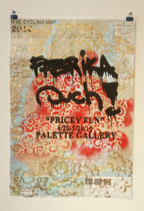"Palette Online ArtSpace Fabrika Ouch ""Pricey Fun""  4/20-5/29/16"