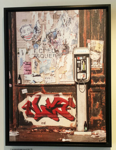 Palette ArtSpace SIGNS PLUS! Group Show 6/2-7/3 Print on canvas