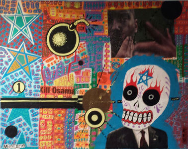 "Palette Gallery MIXTAPE ""Exquisite Corpse On Steroids"""
