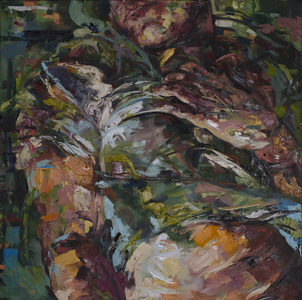 "Palette Online ArtSpace ""Bodies"" group show - Aug 2016  oil on canvas"