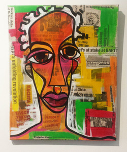 "Palette Online ArtSpace Kortez: ""Life Is Nothing Without Hue"" - Sept. 2016 Mixed media"