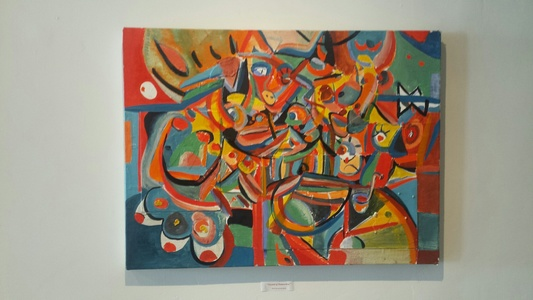Palette Online ArtSpace Peter A. Quinn: Abstract (May 2017)