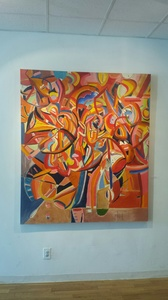Palette Gallery Peter A. Quinn: Abstract (May 2017) oil