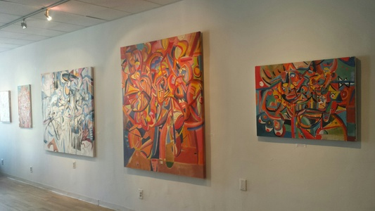Palette Gallery Peter A. Quinn: Abstract (May 2017)