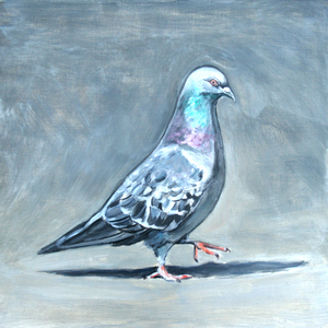 "Palette Online ArtSpace ""For The Birds"" Group Show- July 5 - Aug 26, 2017 Oil on panel"