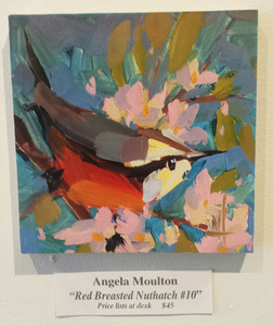 "Palette Online ArtSpace ""For The Birds"" Group Show- July 5 - Aug 26, 2017 Print - Canson Etching Rag on maple panel"
