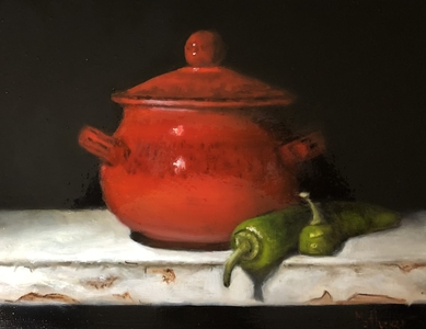 Palette Online ArtSpace Marybeth Hucker: Still Life Oil on board