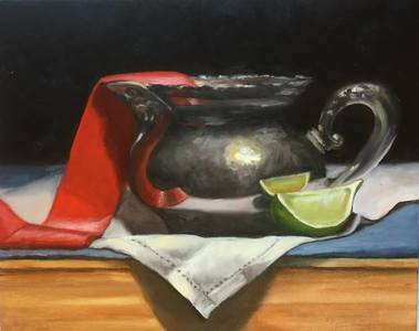 Palette Gallery Marybeth Hucker: Still Life Oil on board