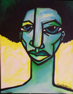 Palette Online ArtSpace Kortez: Faces - (exclusive representation) Acrylic