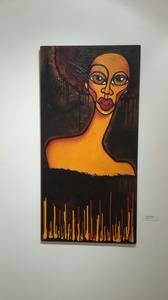 Palette Gallery Kortez: Faces - (exclusive representation) Acrylic