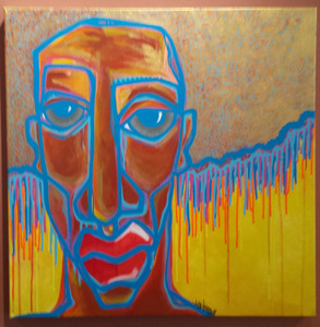 Palette ArtSpace Double Trouble: Joseph Borzotta and Kortez Acrylic on canvas
