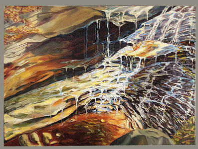 Ray Guzman - Paintings      7/8/7/31/20 Oil on canvas