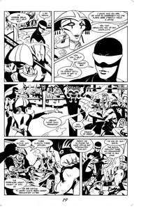 Palette Online ArtSpace Steve Rude: Comics to Canvas     Thru 12/31/20 India Ink on Bristol
