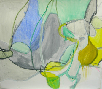 Pam Cardwell Drawing - 2002 - 2007 watercolor, ink on paper
