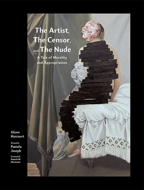 Pamela Joseph PAINTINGS DoppelHouse Press published this book, The Artist, The Censor and The Nude, A Tale of Morality and Appropriation in 2017. Francis M. Naumann has written the Foreword and art historian Glenn Harcourt wrote a major essay on the work with an accompanying section discussing Contemporary Iranian artists.
