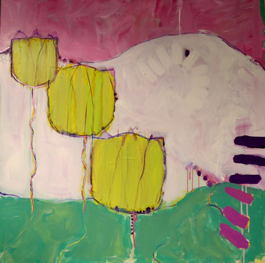 Archives/Sold Tres Tulips
