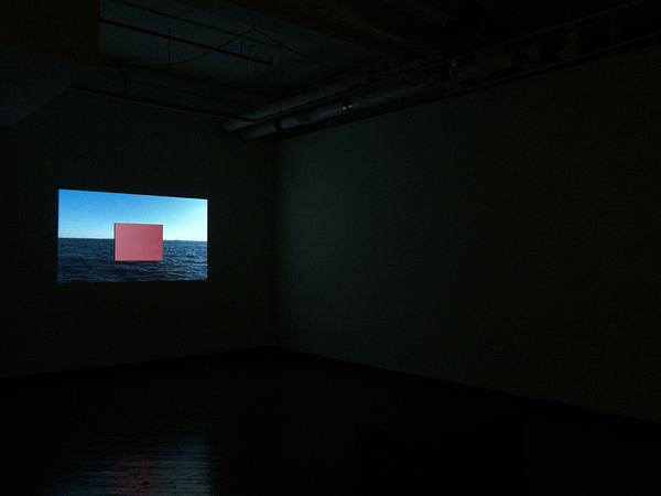 PAN  GE Brooklyn Ocean Video, wood, paint, 30m00s/loop