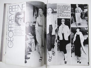 PAT CRESSON  + Graphic Design Archives 1980-2013/Ink Illustrations print, double page spread