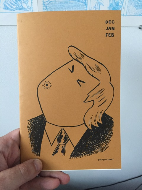 Pat Palermo Purchase  Risograph Comic, 36 pages