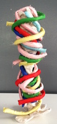 Patricia Dahlman Sculptures canvas, wire, thread, stuffing, fabric