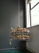 Patricia Dahlman Recent Work canvas,stuffing, wire, ribbon, thread, yarn