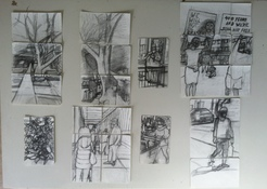 Patricia Dahlman Drawings pencil on paper