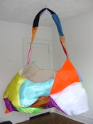 Patricia Dahlman Sculptures canvas, thread, cloth, stuffing, wire