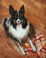 Patricia Rockwood Pet Portraits 14 by 11 inches