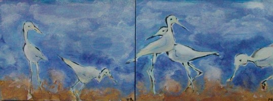 Patricia Rockwood Acrylic Paintings: Recent Acrylic