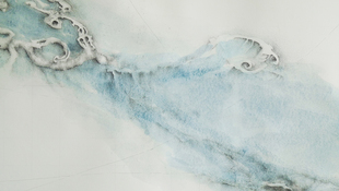 Patricia Smith Flood Maps, 2014 Ink, graphite, watercolor on paper